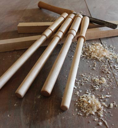 hand turned spurtle
